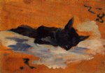 henri de toulouse lautrec little dog painting-32710