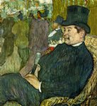 henri de toulouse lautrec m. delaporte at the jardin de paris painting