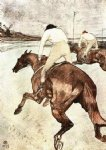 henri de toulouse lautrec the jockey art