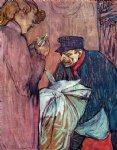 henri de toulouse lautrec the laundryman calling at the brothal posters