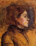 henri de toulouse lautrec woman s head painting