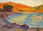 henri edmond cross art - bathers iv by henri edmond cross