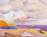 henri edmond cross art - before the storm by henri edmond cross