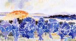 henri edmond cross landscape iii painting