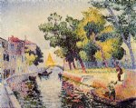 ponte san trovaso by henri edmond cross painting