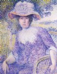 henri edmond cross portrait of madame cross painting