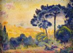 henri edmond cross provence landscape painting