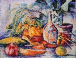 henri edmond cross still life with bottle of wind painting 32424
