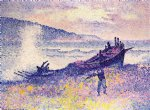 the wreck by henri edmond cross painting
