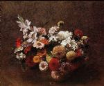 henri fantin latour bouquet of flowers ii painting 77733