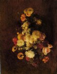 henri fantin latour bouquet of flowers ii painting 32182
