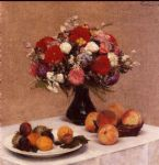 henri fantin latour flowers and fruit painting 78921