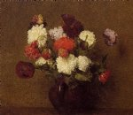 henri fantin latour flowers poppies painting 32215