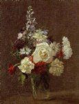 henri fantin latour mixed flowers painting 32239