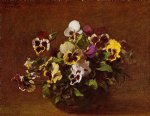 henri fantin latour pansies ii paintings