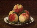 peaches ii by henri fantin latour painting