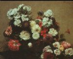 henri fantin latour still life with flowers 1881 painting 82814