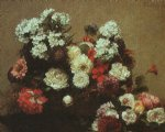 henri fantin latour still life with flowers ii painting 32298