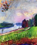 henri matisse acrylic paintings - copse of the banks of the garonne by henri matisse