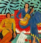 henri matisse acrylic paintings - la musique by henri matisse