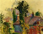 henri matisse acrylic paintings - landscape by henri matisse