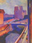 henri matisse acrylic paintings - notre dame sunrise by henri matisse