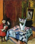 henri matisse pierre with wooden horse painting 32157