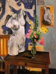 henri matisse original paintings - plaster torso by henri matisse