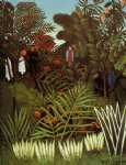 exotic landscape ii by henri rousseau painting