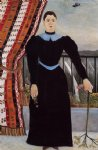 henri rousseau original paintings - portrait of a woman ii by henri rousseau