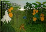henri rousseau artwork - the repast of the lion by henri rousseau