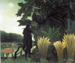 henri rousseau artwork - the snake charmer by henri rousseau