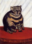 henri rousseau the tiger cat painting-32102