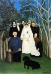 sea famous paintings - the wedding by henri rousseau