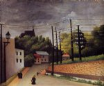 view of malakoff ii by henri rousseau posters