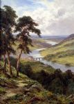 dunkheld & birnam from craigibarns by henry h. parker painting