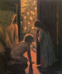 christmas morning by henry mosler painting