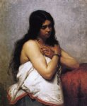 quadroon girl by henry mosler painting