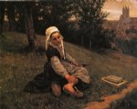 the broken sabot by henry mosler painting