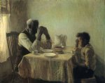 the thankful poor by henry ossawa tanner famous paintings
