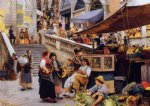 at the foot of the rialto venice by henry woods prints