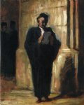 attorney reading by honore daumier posters