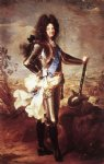 hyacinthe rigaud portrait of louis xiv 2 painting