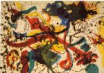 jackson pollock acrylic paintings - untitled by jackson pollock