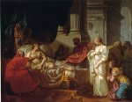 jacques louis david print - antiochus and stratonice by jacques louis david