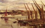 james abbott mcneill whistler famous paintings - battersea reach by james abbott mcneill whistler
