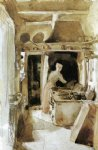 the kitchen by james abbott mcneill whistler painting