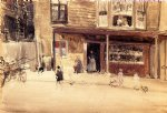 james abbott mcneill whistler famous paintings - the shop by james abbott mcneill whistler