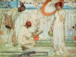 girl acrylic paintings - the white symphony three girls by james abbott mcneill whistler