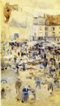 variations in violet and grey by james abbott mcneill whistler painting